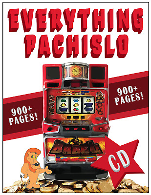 287 Pages EVERYTHING PACHISLO:  The only Pachislo Manual you will need on 1 CD