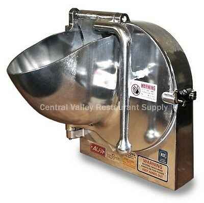 """Grater/Shredder Attachment for Hobart Mixer Complete with 3/16"""" Disc (#22 HUB)"""