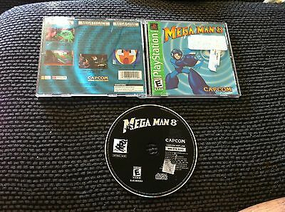 Mega Man 8: Anniversary Collector's Edition  (PlayStation, 1997)COMPLETE
