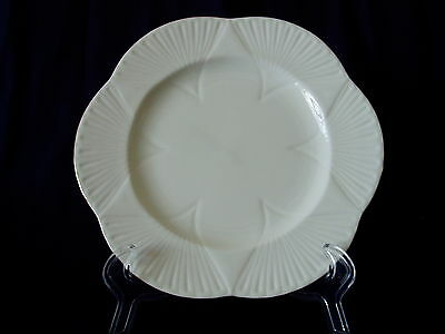 Shelley Regency DINNER PLATE White Dainty Gold Trim England Fine China MINT
