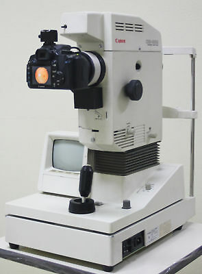 Pre-owned Canon CR5-45NM Fundus Retinal Camera upgraded to digital