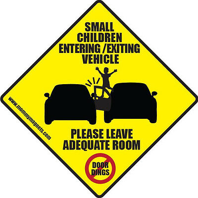 Car Magnet - Small Children entering/ Exiting Vehicle