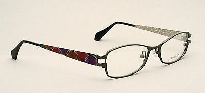 Nice colorful eyeglasses made of stainless steel by OU, Germany 51-18mm  #EG 1-4