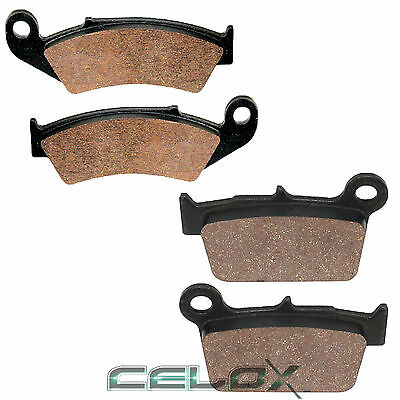 Front Rear Brake Pads For Yamaha YZ250F Competition 2008-2017