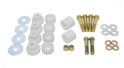 BMR Suspension BMB001, Body Mount Bushing Kit, Front Subframe