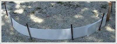 PLASTIC FORMS FOR CONCRETE FLATWORK  5 inch