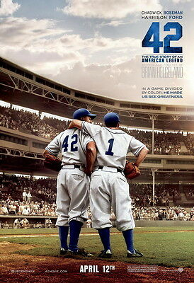 "05 Film 42 Jackie Robinson - Hot Biographical Baseball Movie Art 14""x20"" Poster"