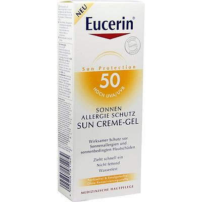 EUCERIN Sun Allergie Gel 50+   150 ml     PZN 7415483