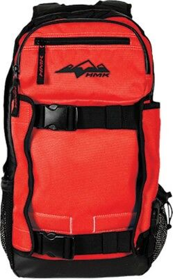 HMK Back Country 2 Pack Backpack Snowmobile Snowboard Ski Red  11-0632