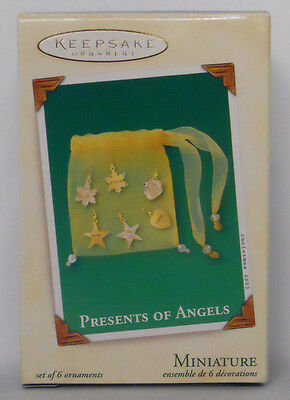 2003 Hallmark Keepsake Miniature Ornament Presents of Angels-WD2845