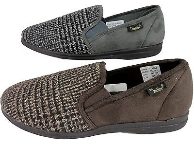 Mens Navy Touch Fasten Shoes