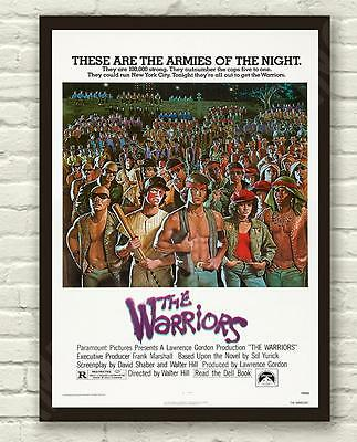 Classic The Warriors Movie Film Poster Print Picture A3 A4