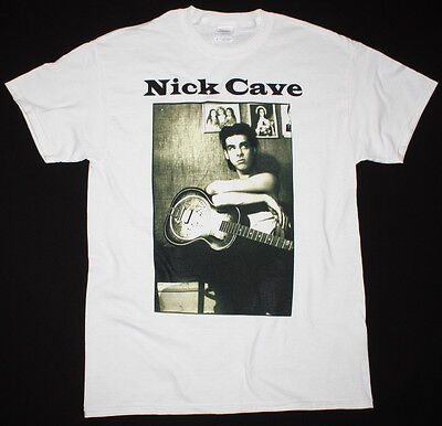 Nick Cave Photo Bad Seeds Grinderman The Birthday Party New S-Xxl White T-Shirt