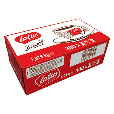 10 Boxes x 300 Lotus Caramelised Biscoff Cafe Biscuits - Just £10.15 Each!