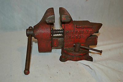 Craftsman 3 1 2 Inch Swivel Base Bench Vise Vice