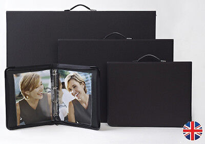 Teloman Tech-Style ART MATRIX A4 Portfolio + Sleeves - Choose 5 10 15 20 Sleeves