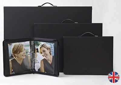 Teloman Tech-Style ART MATRIX A3 Portfolio + Sleeves - Choose 5 10 15 20 Sleeves