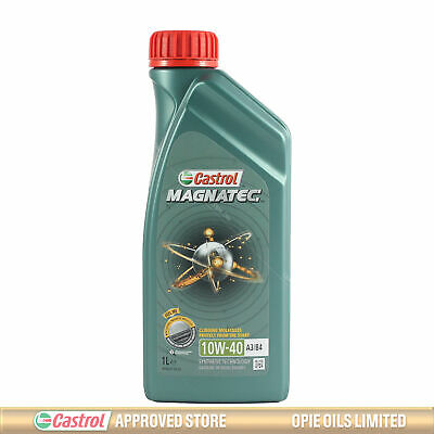 Castrol Magnatec 10W-40 Part-Synthetic Engine Oil ACEA A3/B4 10W40 - 1 LITRE 1L