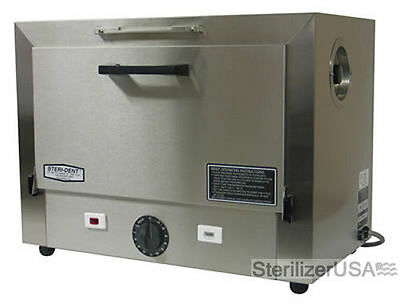 New sterident Stainless Steel Dry Heat Sterilizer, Hospital Model,8375 2 trays