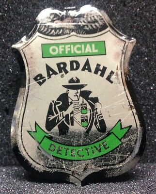 [46299] Undated Toy Badge Official Bardahl Detective
