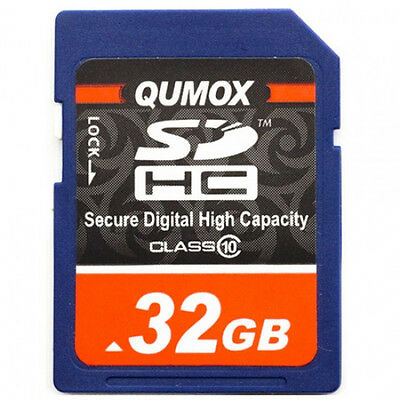 New 32GB SDHC Class 10 Flash Memory Card 32G SD HC SDXC Ultra High Speed Camera