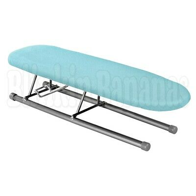 Folding Mini Small Table Top Ironing Board Sleeves Collar Cuff Pleats Corners Gr