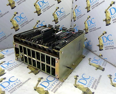 Allen Bradley 1771-A2B 8 Slot I/o Chassis W/ 1771-Asb B And 5 Other Modules
