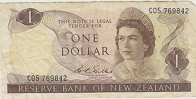 Reserve Bank of New Zealand, ONE DOLLAR