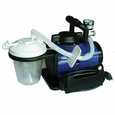 HYGIENIST PORTABLE SUCTION VACUUM UNIT/ HIGH VACUUM SUCTION/SELF CONTAINED!