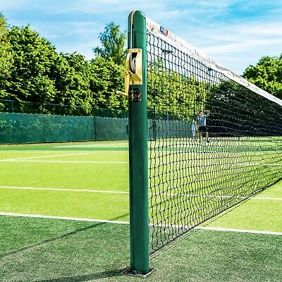 FORTIS Round Tennis Posts - For Professional & Home Courts [Net World Sports]