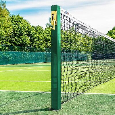 FORTIS Square Tennis Posts - For Professional & Home Courts [Net World Sports]