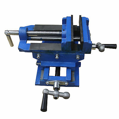 "3"" Cross Slide Vise Drill Press Metal Milling 2 Way X-Y Heavy Duty Clamp Machine"