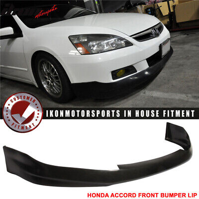06-07 Honda Accord 2Dr Urethane Front Bumper Lip Spoiler Hfp-Style PU