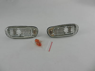 Side Turn Signal Indicator Marker Lights For 93-00 SUBARU IMPREZA GC8 GF8 SGC2