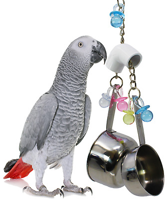 1818 BIG BANGER BIRD TOY parrot cage toys cages cockatiel african grey conure