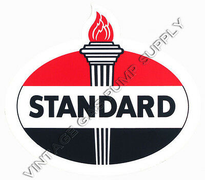 "Standard Oval 12"" Vinyl Decal (DC135)"