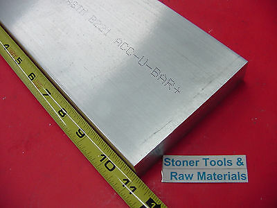 "1"" X 3-1/2"" ALUMINUM 6061 FLAT BAR 11"" long T6511 Solid Plate Mill Stock 1.00"""