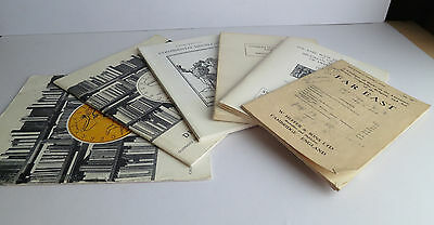Lot of 6 Antiquarian Book Catalogs - Far East, China, Medicine, Angling, Hunting