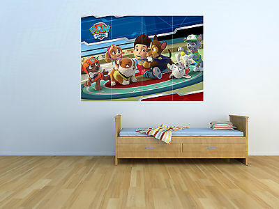 Paw Patrol - New - KIDS - Massive Wall Poster/Picture/Art - PAW02