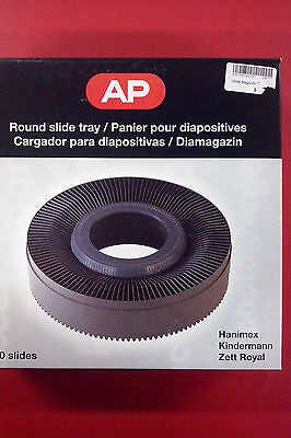 Round Slide Tray - Holds 120 35m Slides BNIB