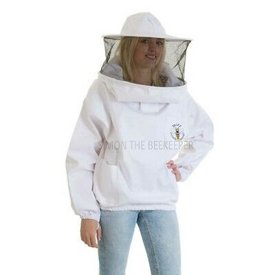 Buzz Beekeepers Bee Jacket/Tunic with Round Veil - MEDIUM