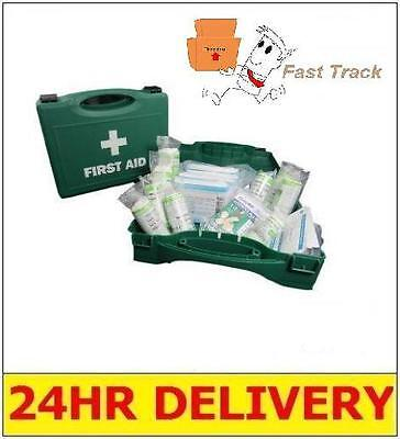 1 x 10 PERSON HSE FIRST AID KITS - WORKPLACE HOME TAXI CARAVAN BOAT *HARD CASE*