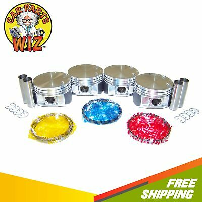 Pistons and Rings Fits 94-98 Saturn SC2 SL2 SW2 1.9L 16v DOHC