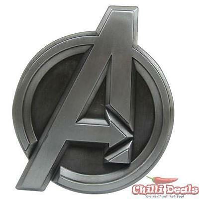 Marvel comics AVENGERS SHIELD LOGO metal/steel Men's unisex cosplay Belt Buckle