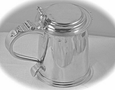 A Queen Anne Silver Lady's Tankard: Garthorne, Royal Maker To Six Monarchs