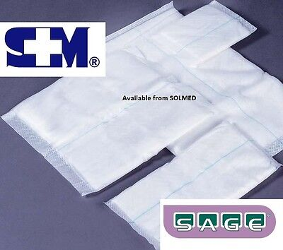 20CM x20CM (x 5) WOUND DRESSING COMBINE DRESSINGS STERILE FIRST AID WOUNDCARE