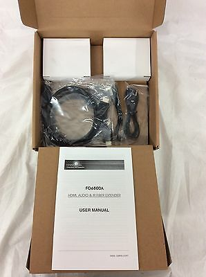 OWLink MultiMode HDMI Over Fiber Extender Kit 200ft - FO6800A-KIT-CLEAR200