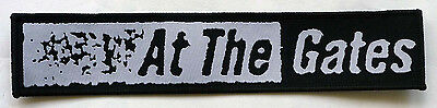 "At The Gates ""Logo"" Woven Patch - NEW slaughter of the soul purgatory unleashed"