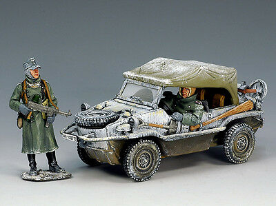 King and (&) Country BBG015 - Schwimmwagen (Winter) - Retired