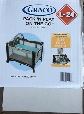 GRACO Pack N Play On The Go Portable Playard L-24